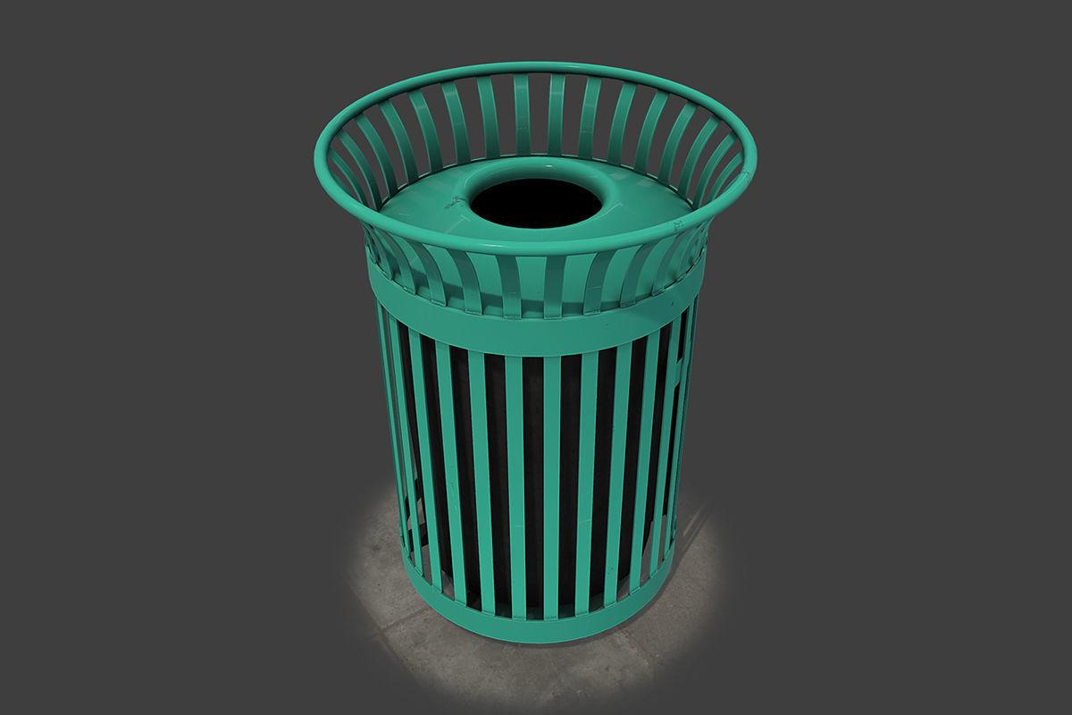 New York Trash Can