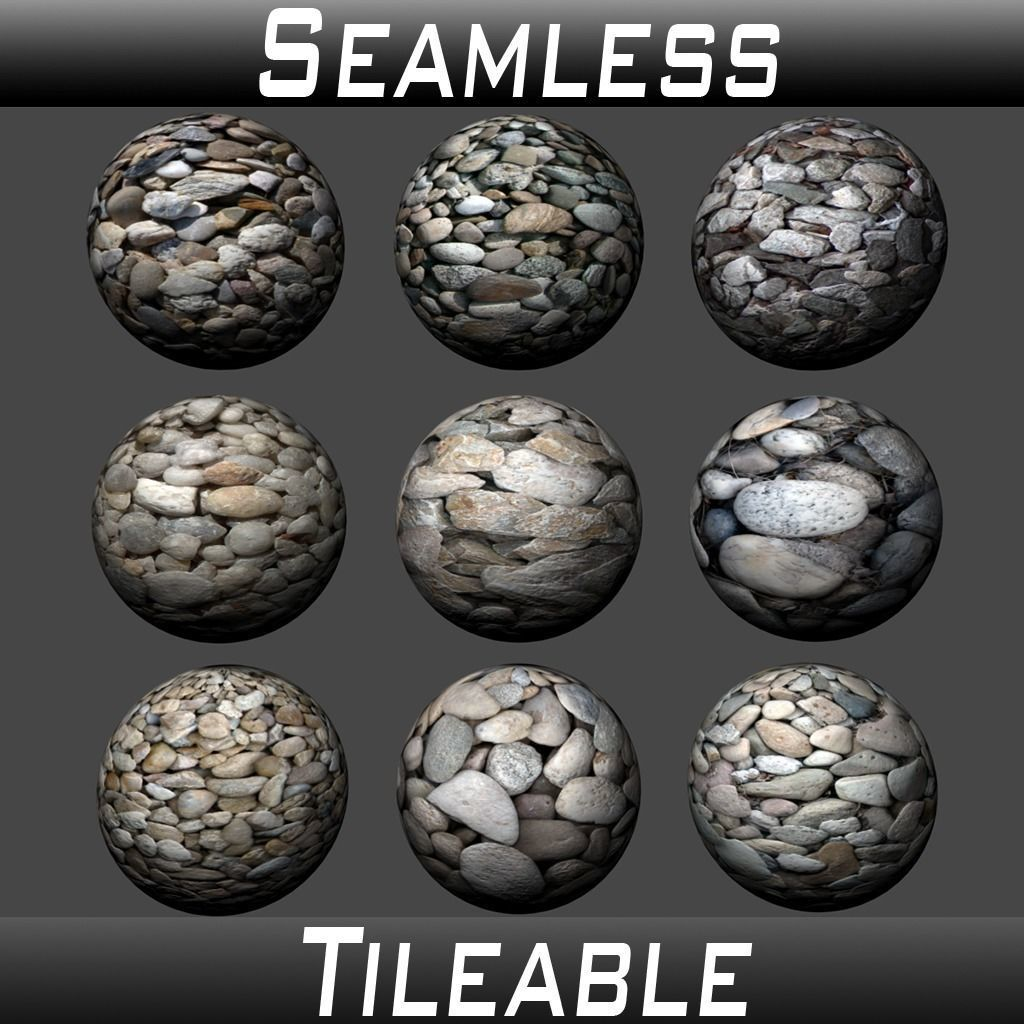 Gravel Textures Pack 1