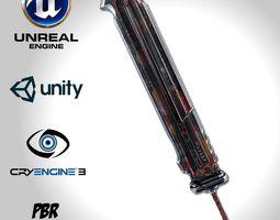Heavy Full Metal Sword - Remake 3D model realtime