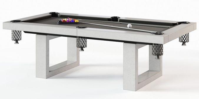 james de wulf pool table 3d model max obj mtl fbx 1
