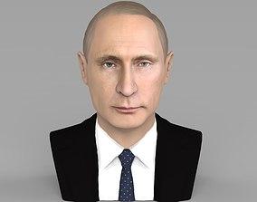 Vladimir Putin bust ready for full color 3D