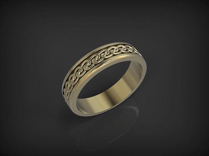 celtic ring 01 3d model stl 1