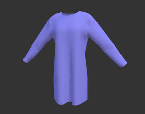 3D model Female Tshit