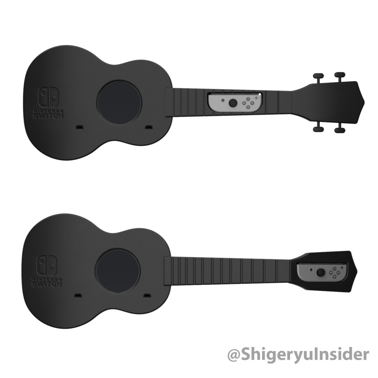 graphic regarding Guitar Printable called Ukulele Guitar for Nintendo exchange 3D Print Design