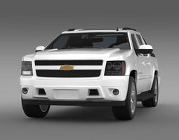 Chevrolet Avalanche LTZ 3D Model