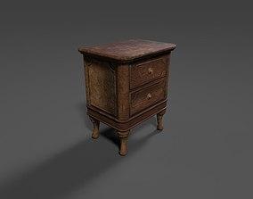Old Dresser 3D asset