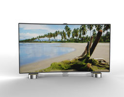 Generic Smart TV  LED Curved 3D Model