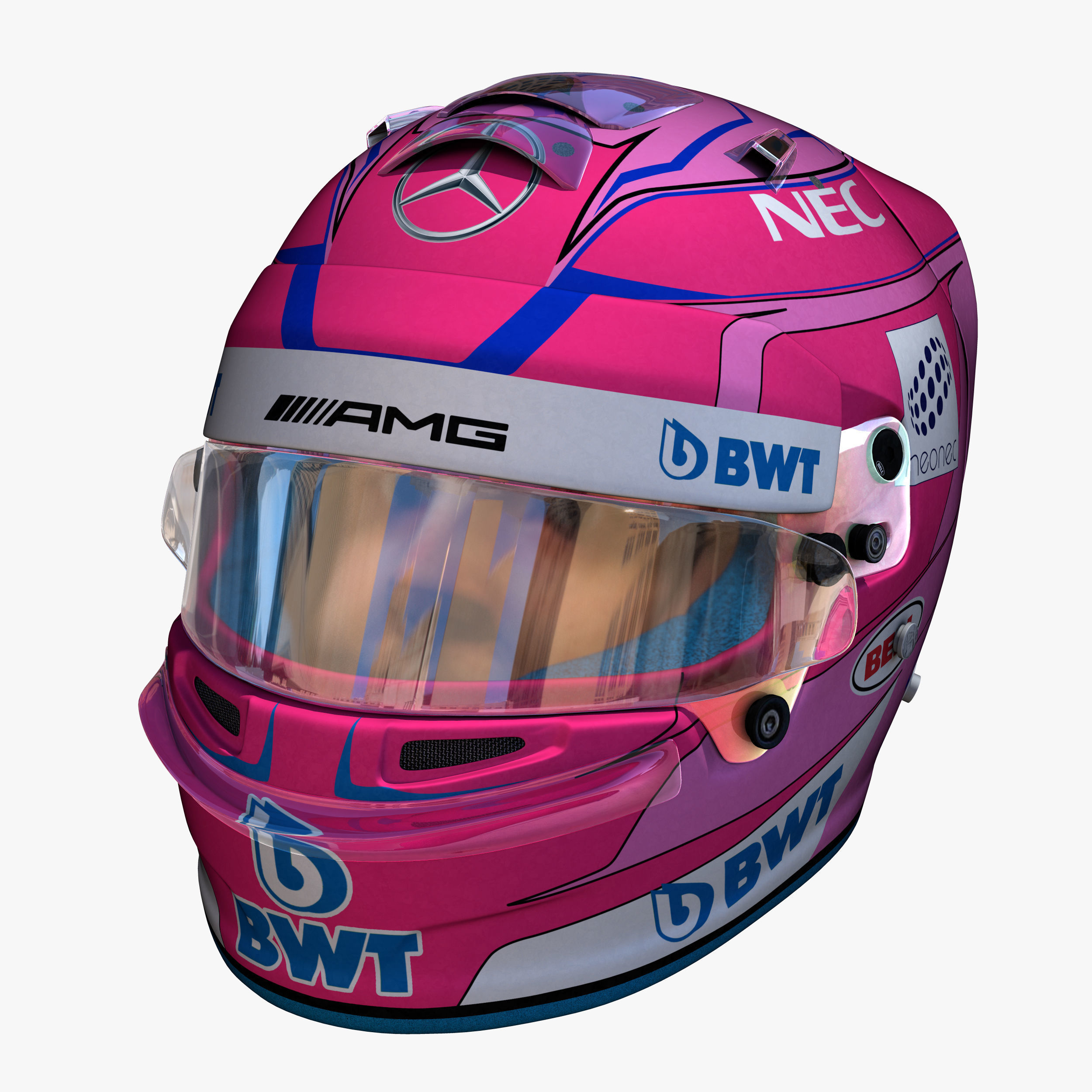 Ocon Helmet 2018 | 3D model