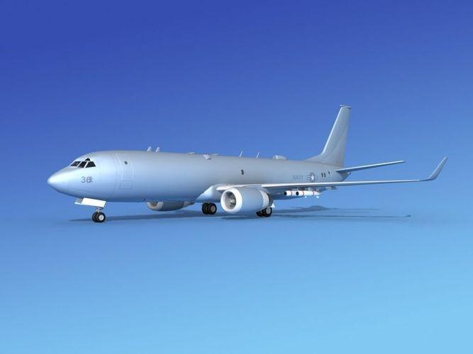 Boeing P-8 Poseidon US Navy3D model