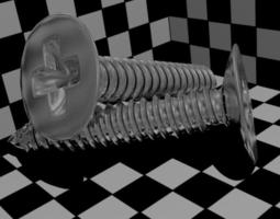 3D model Screws