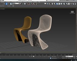 3D model Smooth and Modern Chairs