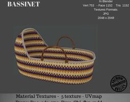 Bassinet 3D asset