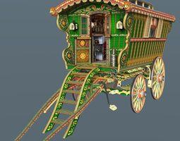 Reading Wagon 3D Model