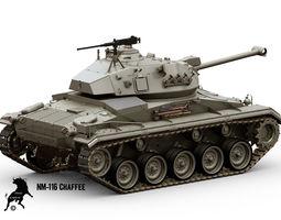 NM-116 Chaffee 3D Model