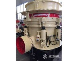 hp500 cone crusher complete 2d drawings metso 3d model