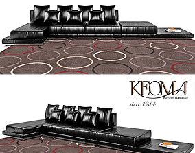 3D asset Sofa Muna
