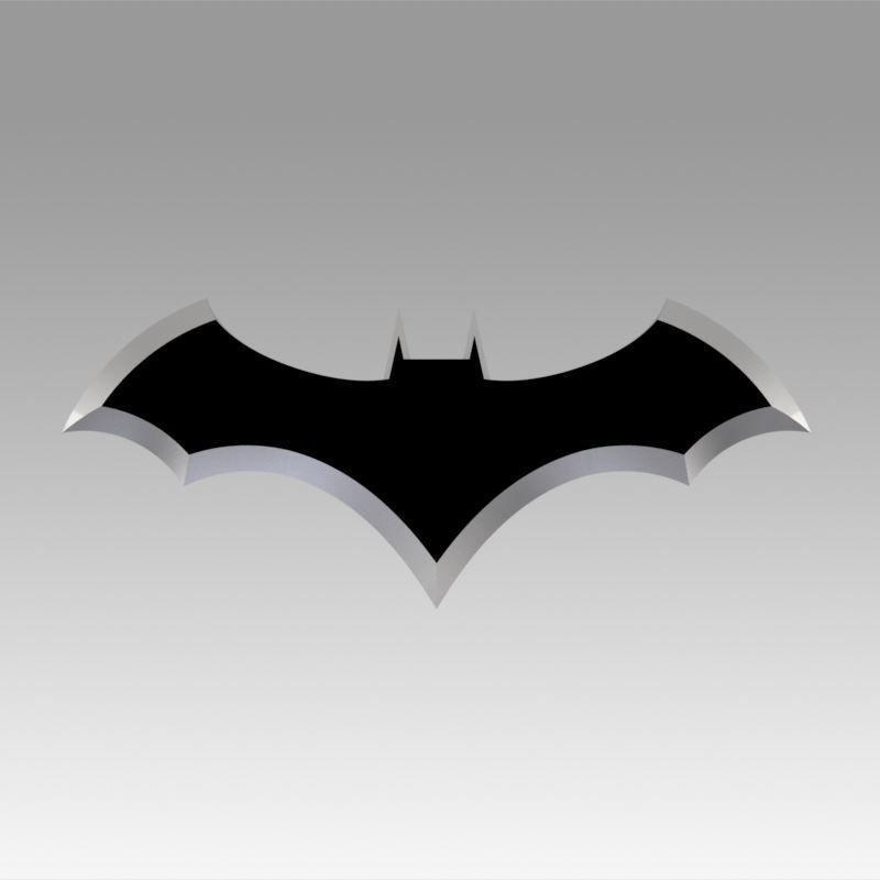 Batman Logo 3d Model