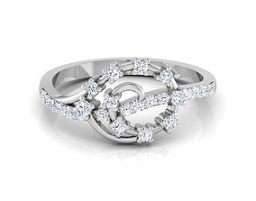 Floral Beauty Ring 3D print model