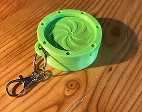 3D print model Secret baby tooth box for keychain