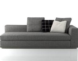 powell sofa system 3d model