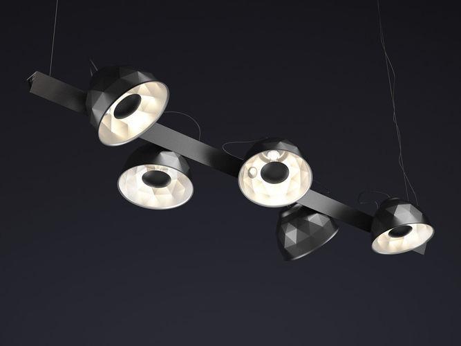 trepied ceiling 3d model max obj mtl fbx c4d skp pdf 1