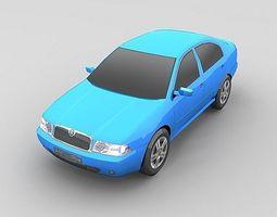 3D model Skoda Octavia