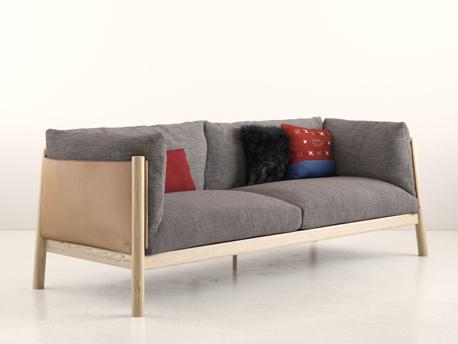 Yak Sofa 3D model MAX OBJ FBX C4D SKP MXS