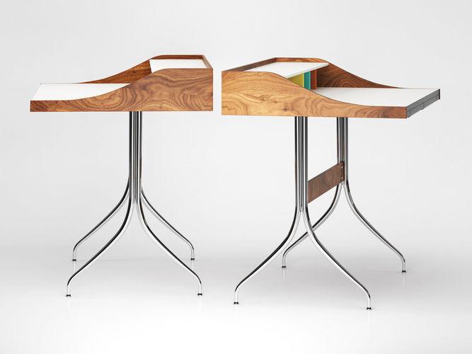 ... Nelson Swag Leg Desk 3d Model Max Obj Fbx C4d Skp Mxs 2 ...