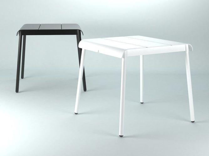 corail dining table square 3d model max obj mtl fbx c4d skp pdf 1