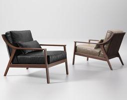 3d lady armchair
