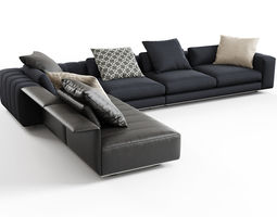 freeman corner sofa system b 3d