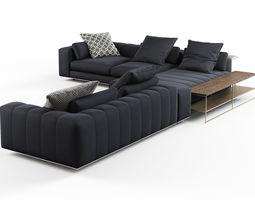 freeman corner sofa system c 3d