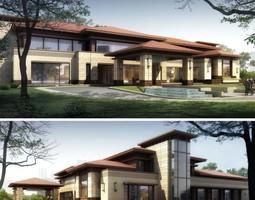 Building 3D model residential