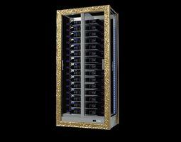 EXPO Wine Cabinet 3d model chiller