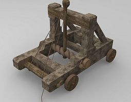 3D model Torsion Catapult
