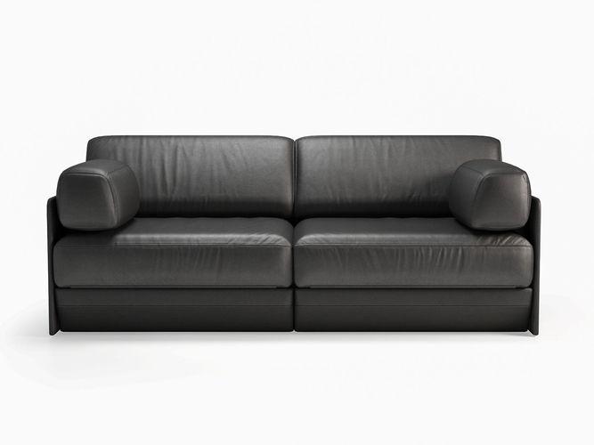 ds 76 102 2 seater sofa 3d model max obj mtl fbx c4d skp mxs 1