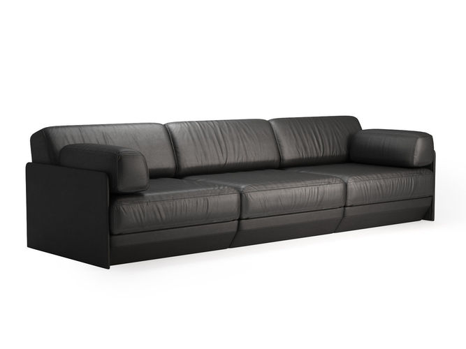ds 76 3 seater sofa and modules 3d model max obj mtl fbx c4d skp mxs 1