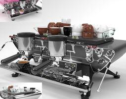 3D model Kees van der Westen Coffee Machine Spirit 2 2