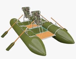 3D model Catamaran