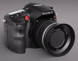 sony alpha 77 3d model max