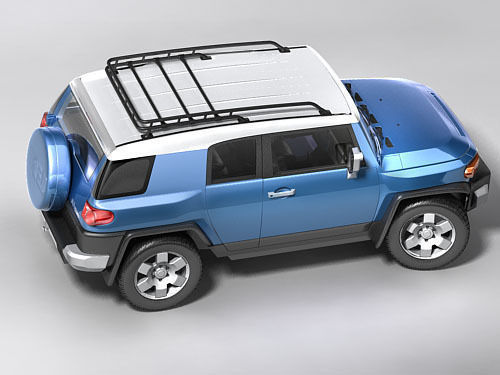 toyota fj-cruiser 20083D model