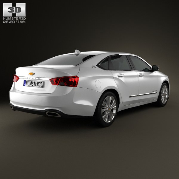 Chevrolet Impala 2014 3D Model .max .obj .3ds .fbx .c4d