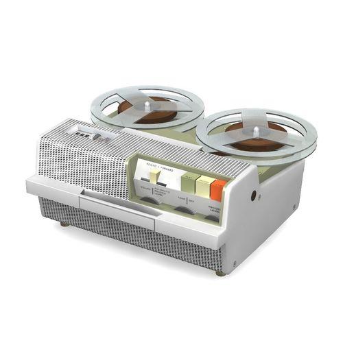 vintage tape recorder 3d model obj fbx lwo lw lws mtl 1