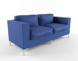 Fabric Sofa 3D model moden