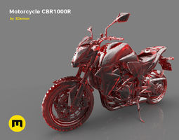 3D Motorcycle CBR1000R