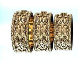3D model fashion engagement ring