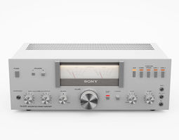 Vintage Stereo switchman Sony ta-515 3D model