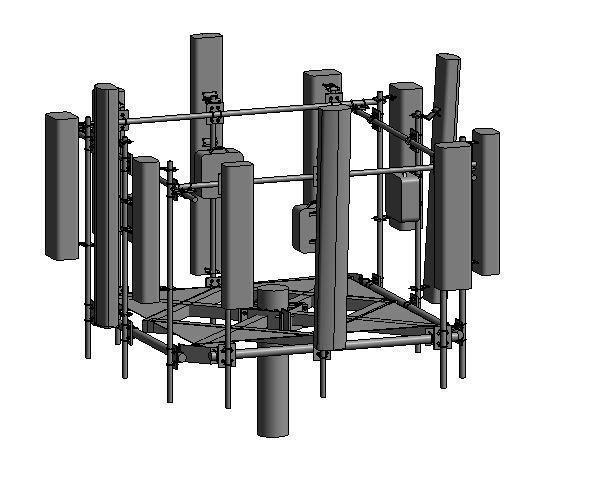 ANTENNA TOWER-2 REVIT FAMILY 2016 | 3D model