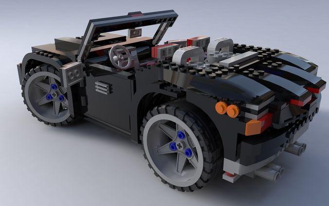Lego car3D model