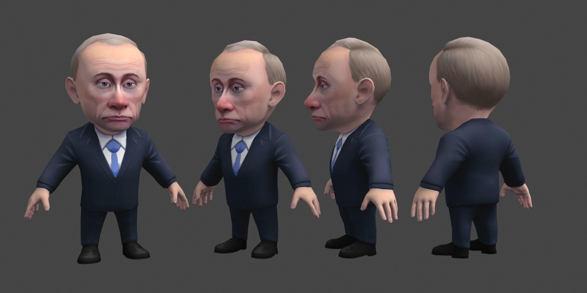 Chibii politicians - Putin - ver1